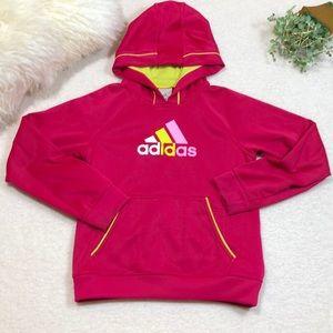 Adidas Girls Pullover Hoodie Sweatshirt